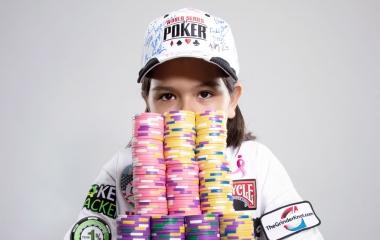 Alexa Fisher; Pemain Poker Termuda di Dunia