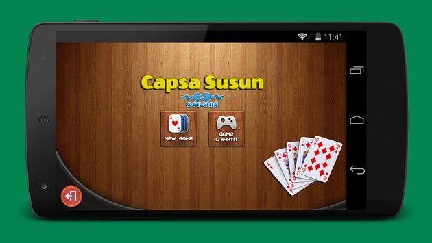 List Game Capsa Offline Android yang Seru Dimainkan